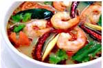 Spicy Soup with Prawn and Lemon Grass [Tom Yum Goong]